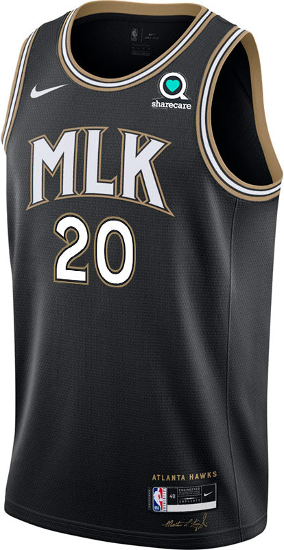 Youth Collins Nike MLK City Edition Swingman Jersey