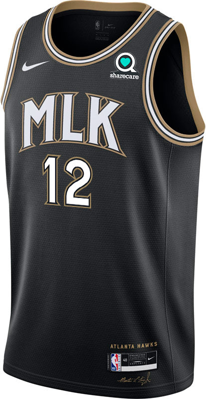 Hunter Nike MLK City Edition Swingman Jersey