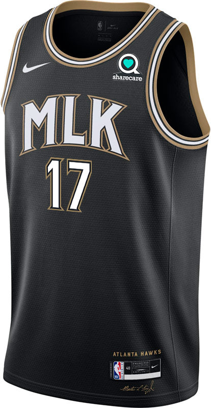 Okongwu Nike MLK City Edition Swingman Jersey