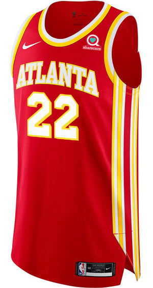 Reddish Nike Icon Edition Authentic Jersey