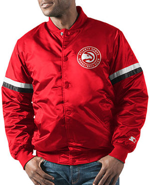 GIII The Champ Varsity Vintage Satin Jacket