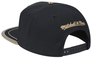 Mitchell & Ness Black Soutache Snapback