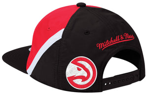 Mitchell & Ness Red Anorak Snapback
