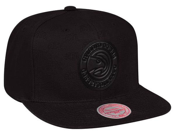 Mitchell & Ness Dark Full Primary Repeater Snapback