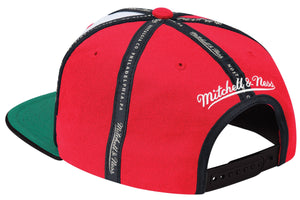Mitchell & Ness Red Rally Snapback