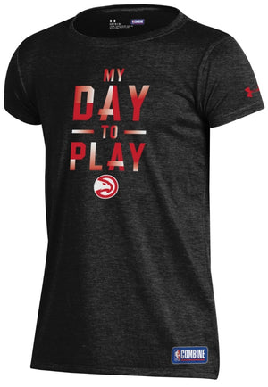 Girls Under Armour My Day To Play Tee