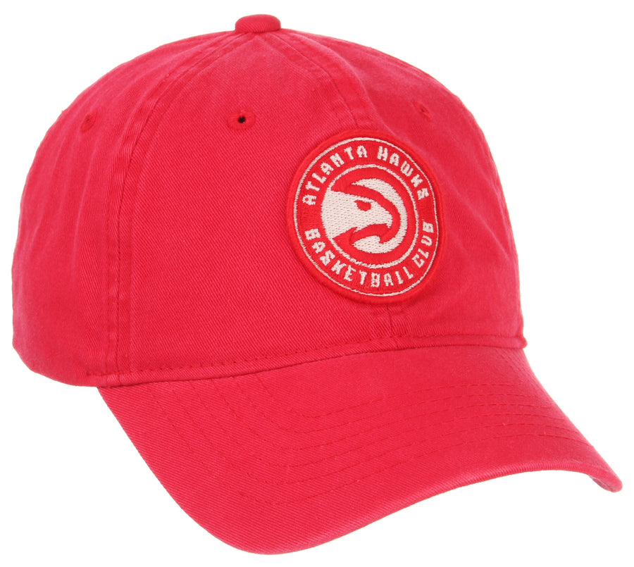 Washed Red Scholarship Dad Hat