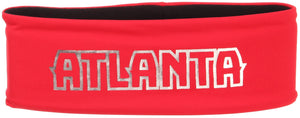 Women's Red Knit Headband