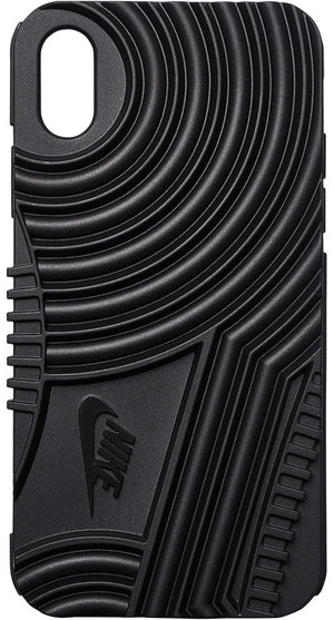 Nike Black Air Force 1 iPhone X Case