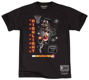 Mitchell & Ness Youth Wilkins Caricature Tee