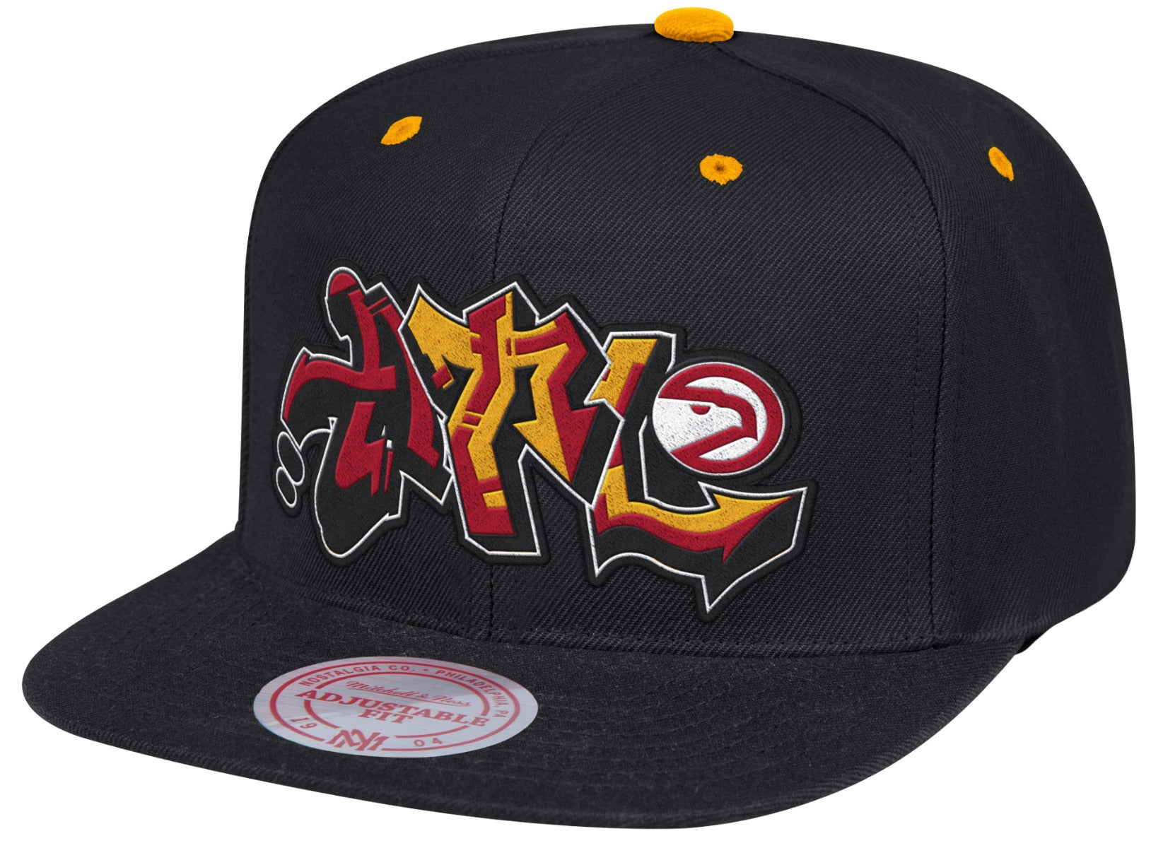 ee91461da501b Mitchell   Ness Graffiti Snapback - Hawks Shop - Official Team Store