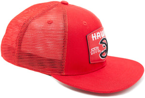Pro Standard Red Leather Trucker Adjustable