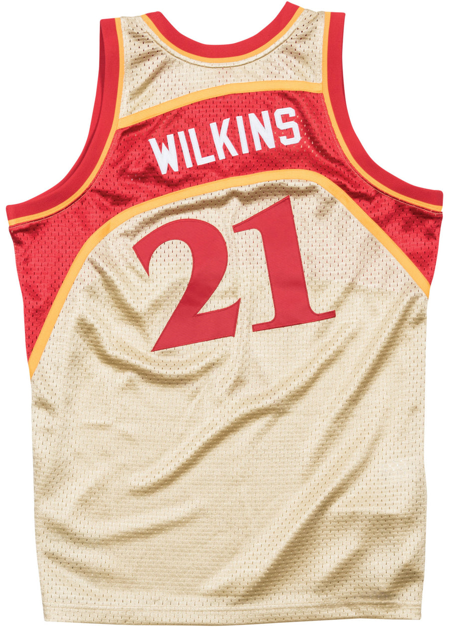 Mitchell & Ness Wilkins Gold '86-'87 Swingman