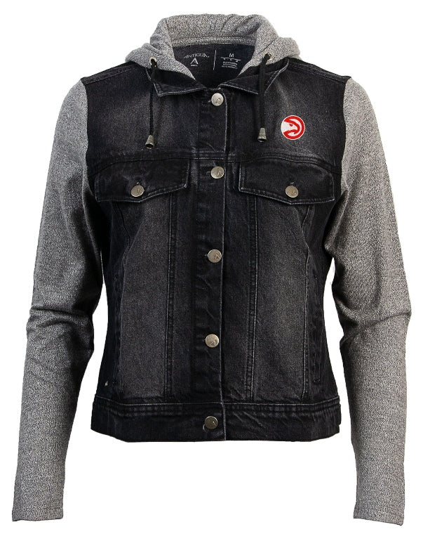 Women's Antigua Swag Jean Bomber Jacket