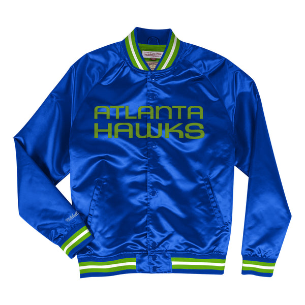 Mitchell & Ness Pistol Lightweight Satin Jacket