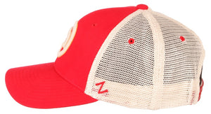 Retro Partial Primary Trucker Hat