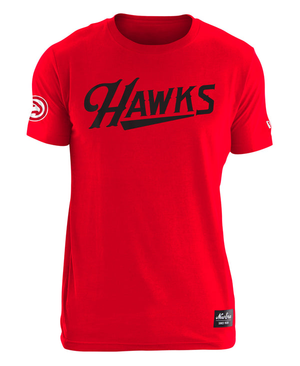 New Era Hawks Script Applique Shirt