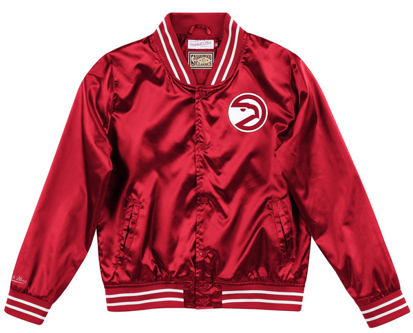 Women's Mitchell & Ness Lightweight Satin Jacket