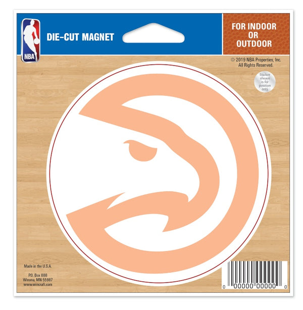 WinCraft Peachtree Die Cut Car Magnet