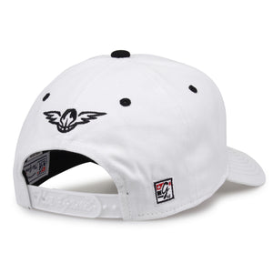 Hawks White Bar Hat