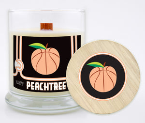 WinCraft Peachtree Peach Scented 8 oz Candle w/ Lid