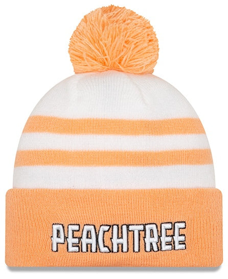 New Era Peachtree White Knit