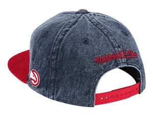 Mitchell & Ness Denim Block Snapback