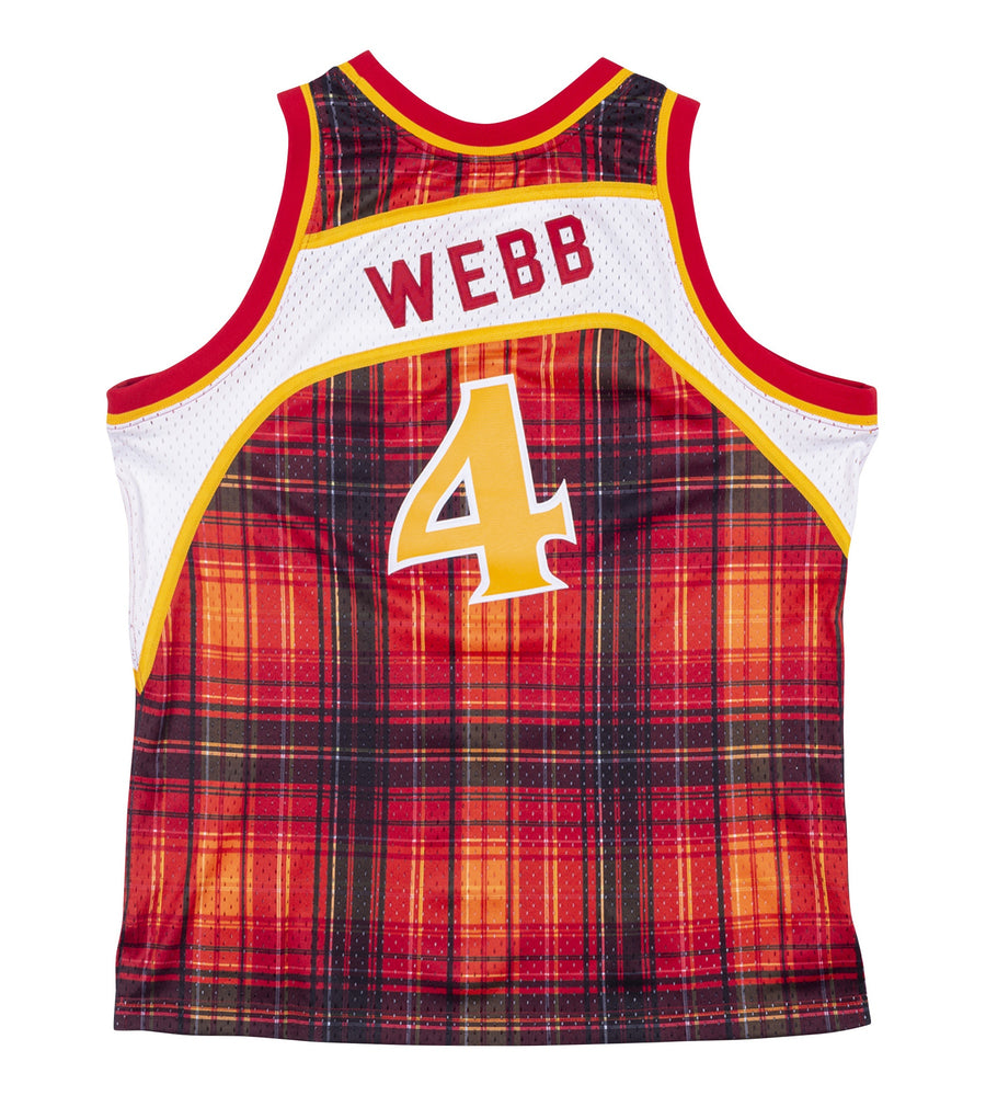 Mitchell & Ness Spud Web Retro Plaid Swingman
