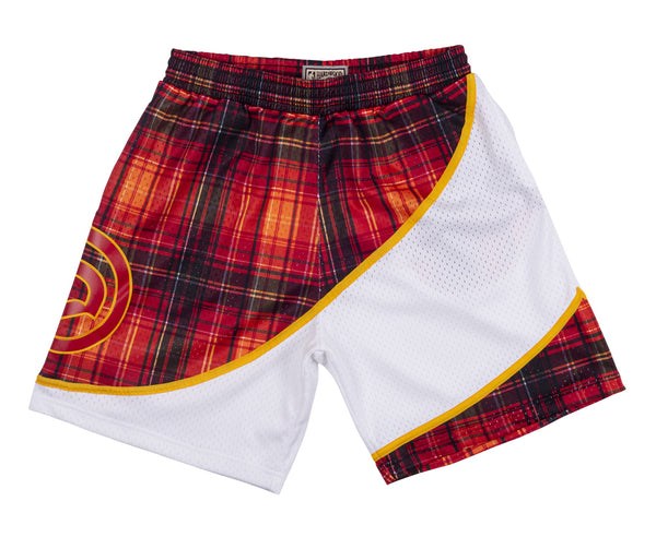 Mitchell & Ness Private School Plaid Swingman Shorts