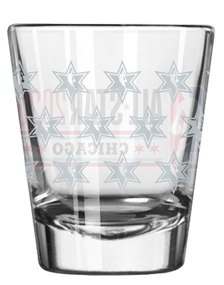 2020 All-Star Satin Etch Shot Glass