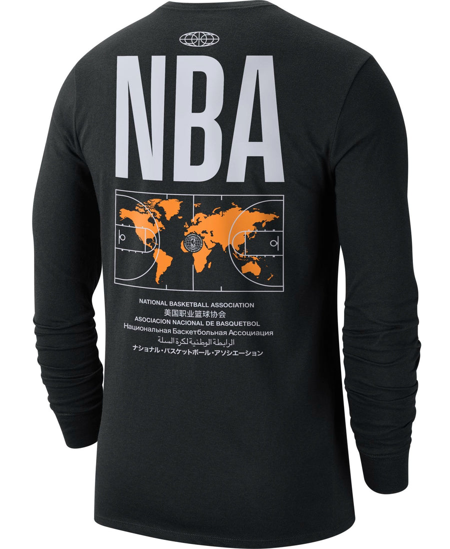 Nike Global Courtside Long Sleeve Tee