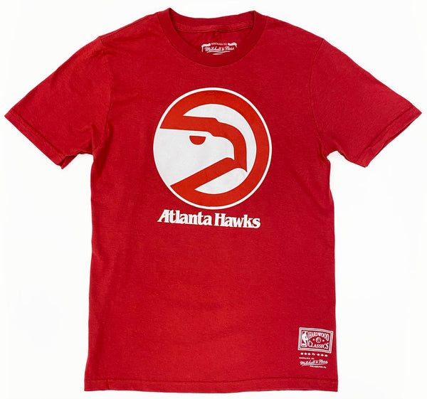 Youth Mitchell & Ness Retro Logo Tee