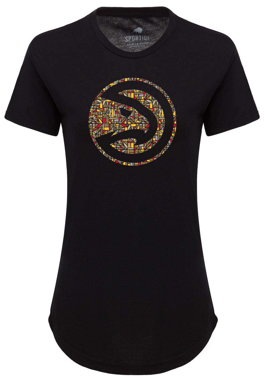 Women's Sportiqe Unity Stained Glass Logo Phoebe Tee
