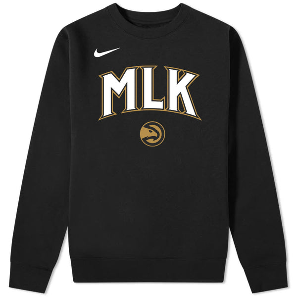 Nike MLK City Edition Fleece Crew Sweatshirt