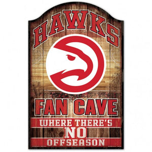 Fan Cave Wood Sign
