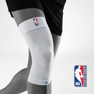 Bauerfeind NBA Sports Compression White Knee Support