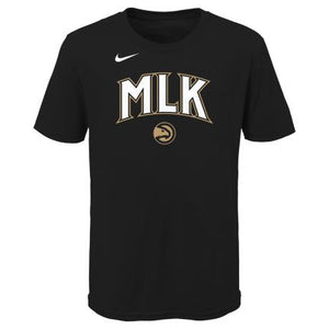Kids Nike MLK City Edition Logo Tee