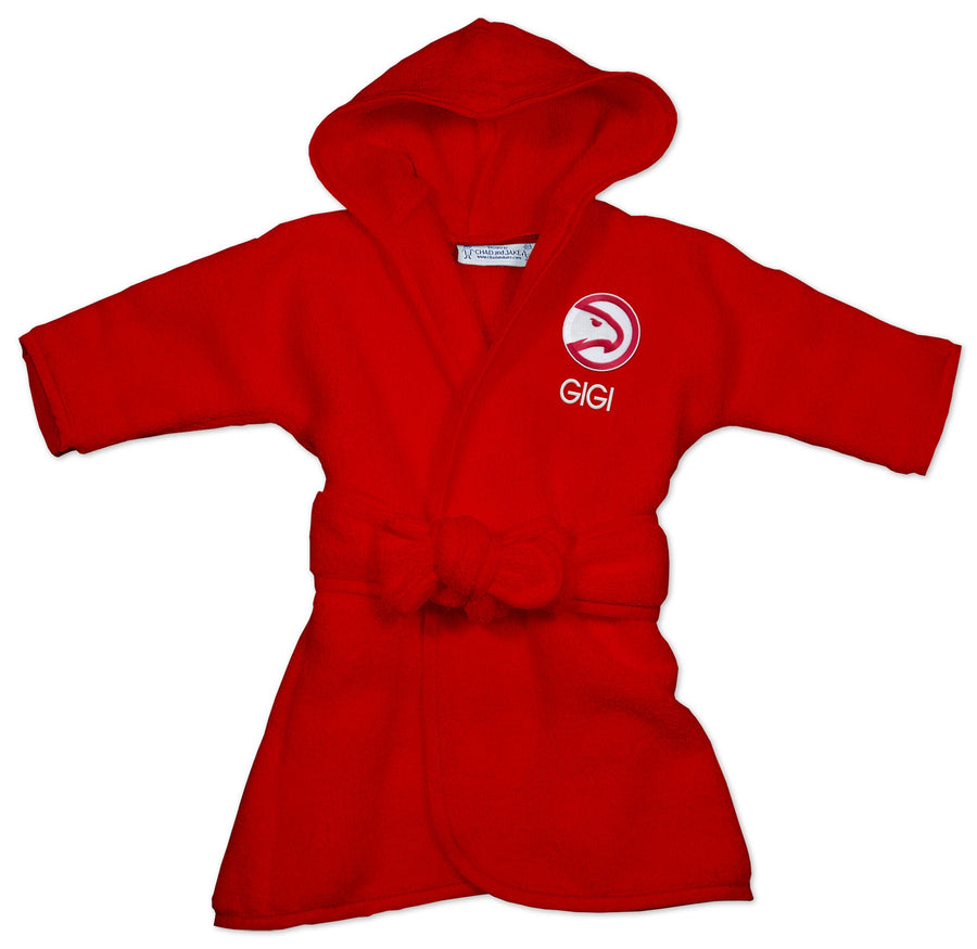 Chad & Jake Primary Personalized Red Robe