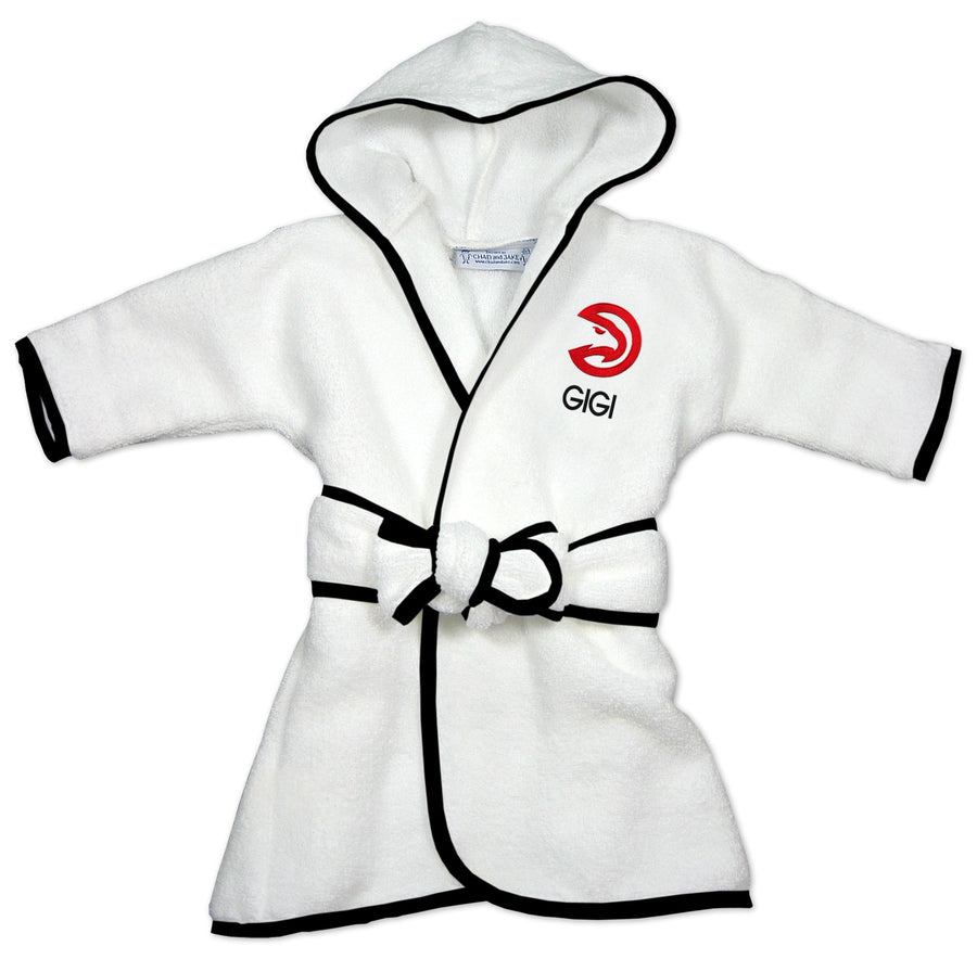 Chad & Jake Primary Personalized White Robe