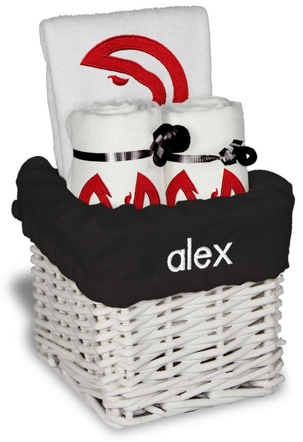 Chad & Jake Personalized Small Baby Gift Basket