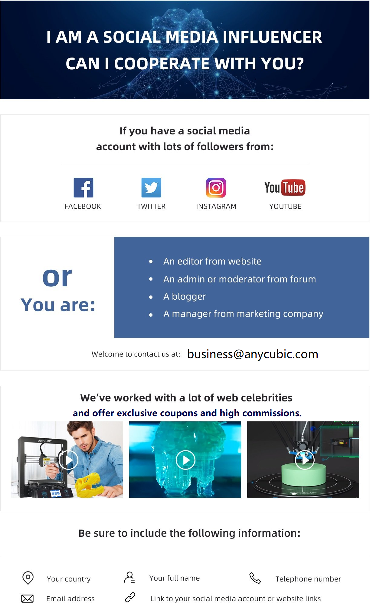 anycubic affiliate