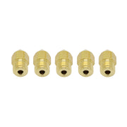 Extruder Nozzles for 1.75mm MK8 3D Printer 0.4mm 5 Pcs