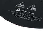 Heated Bed Sticker