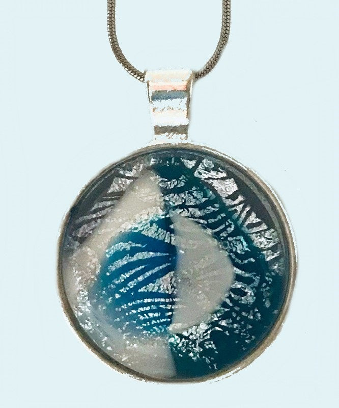 Blue Dimensions Energy Therapy Pendant/Key Ring