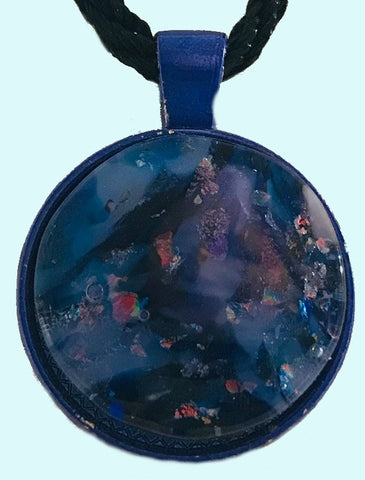 Cloudy Night Energy Therapy Pendant/Key ring