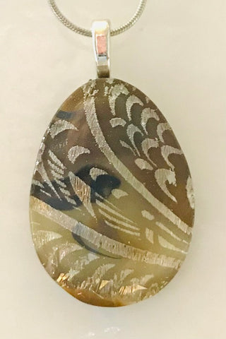 Kansas Wheat Energy Therapy Pendant