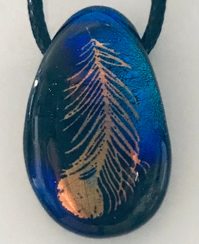 Lone Feather Energy Therapy Pendant