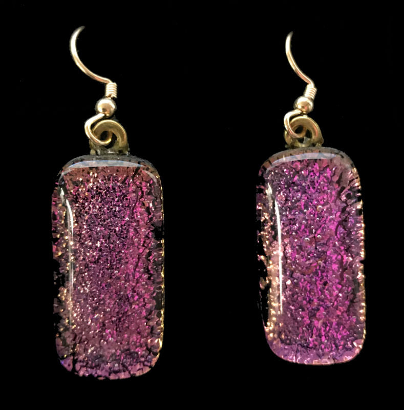 Pink Dangles Energy Therapy Earrings