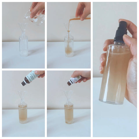 Recette - Spray capillaire - fabrication