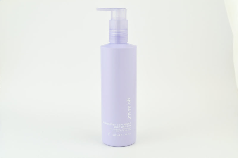 Regenerating & balancing body emulsion